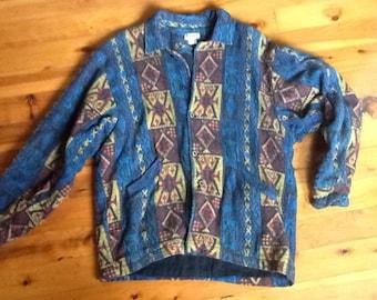 MENS VINTAGE 80's surf indian jacket