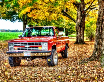 HDR Photography - 1986 Chevy Truck