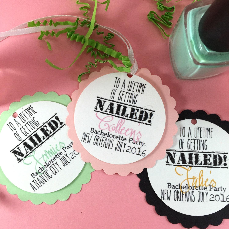 20 bachelorette favor tags bridal shower tag wedding favor tag