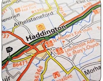 Haddington Map Coasters