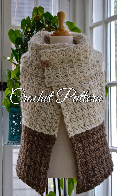 Crochet Pattern Women S Chunky Yarn Vest 3 Sizes S M