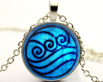 water tribe necklace pendant Avatar the Last Airbender necklace jewelry -with gift box