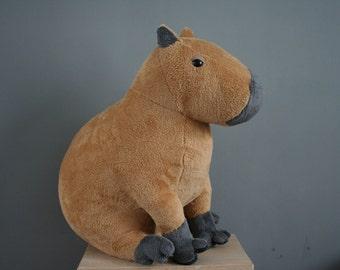 Carlos Capybara, big soft capybara plush, 20 inch, made to order