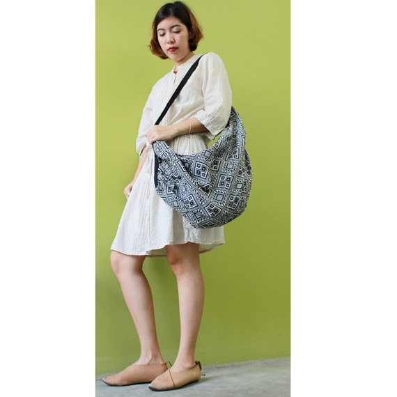 Cotton Bag Hippie bag Hobo bag Shoulder bag Sling bag Messenger bag Tote bag Crossbody Purse Women bag Handbags (SH42)