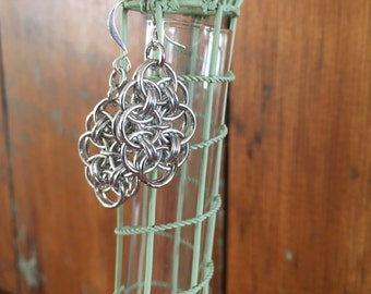 Cloud Chainmaille Earrings