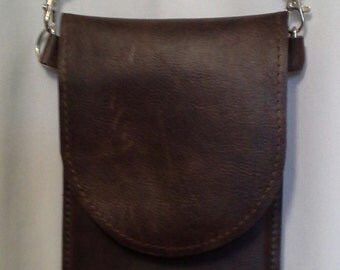 Leather phone purse