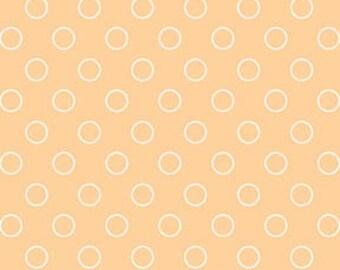 Googlies White Bubbles on Peach Background by Benartex - 1597B-03