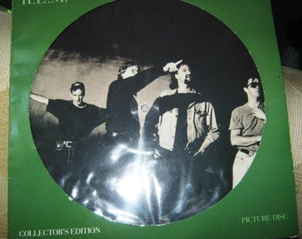 "R.E.M Nightswimming 12"" Picture Disc 1992"
