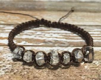 Clear Quartz Bracelet / Healing Bracelet / Yoga Bracelet / Crystal Healing Bracelet