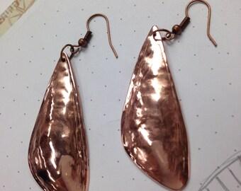 Earrings / Copper Earrings / Metal Jewelry