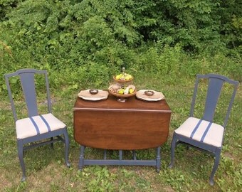 Drop Leaf Table & Chair Set