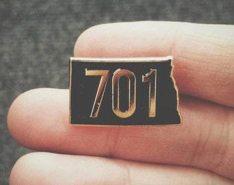 701 lapel pin