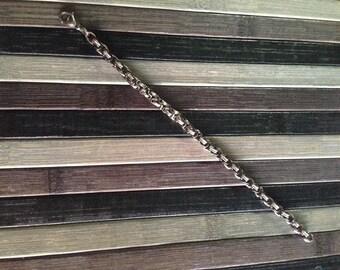Handmade steel bracelet