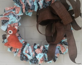 Fox Baby Wreath