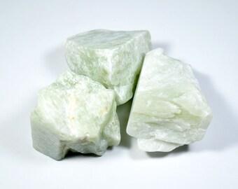 120g Natural Rough New Jade/ Serpentine Lot (NewJd01)