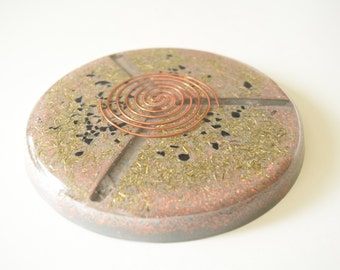 Orgonite Lemurain Charging Plate - Large