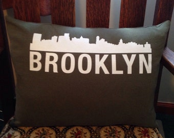 Brooklyn pillow