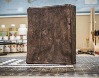 Full Grain Cowhide Leather Bible, NIV Life Application Study Bible