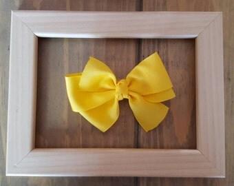 Pinwheel boutique style hair bow