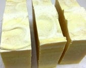 Lemon Verbena Soap - herbal scent, handmade soap, cold process soap, lemon peel exfoliant, gardeners soap, lemon soap