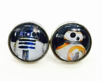 R2-D2 and BB8 Earring