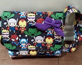 Marvel Kawaii Kids Messenger Bag