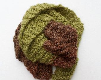Pine - Brown/Green Scarf