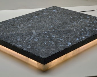 "Audiophile Devices Stone Isolation Platform Blue Pearl Granite 14.5""x18""x1.625"""