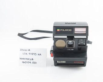 Polaroid Sun 660 Land Camera