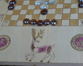 White Deer Hnefatafl Game