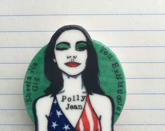 PJ Harvey badge