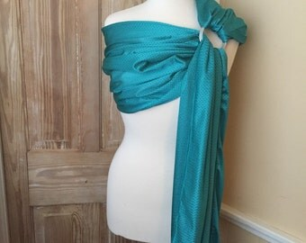 Teal Water Ring Sling