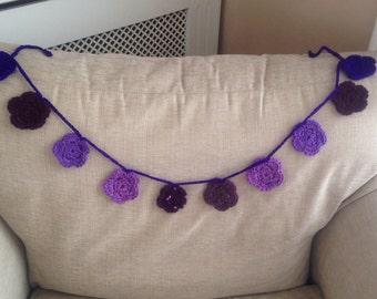 Crochet Flower Bunting