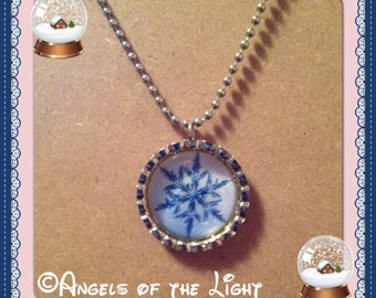 No.10- Snowflake Necklace