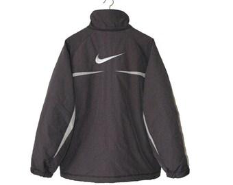 90s Nike graphite grey coat