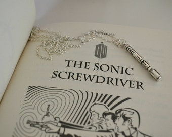Sonic screwdriver necklace