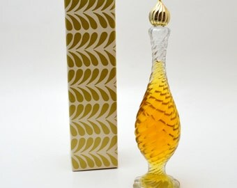 Vintage Avon Unfortgettable Cologne Classic, 4 FL, In Original Box, Collectible Avon Perfume Bottle, 1960s