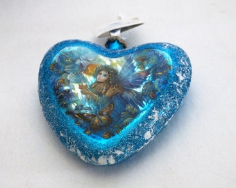 "G. Debrekht ""Fairy LE Heart"" Ornament Limited Edition 49/1500"