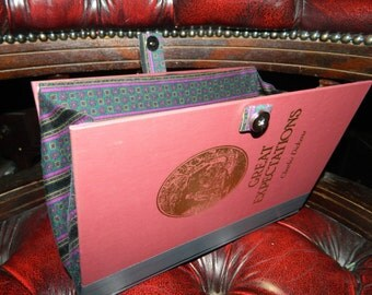 Handmade/Upcycled Great Expectations Book Clutch Bag