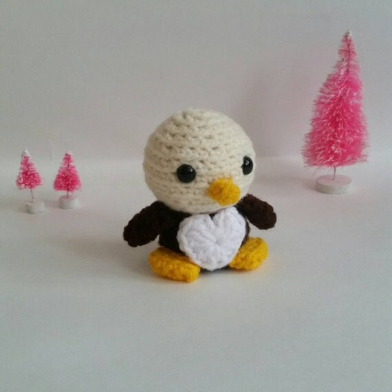 Custom Bald Eagle Amigurumi Crochet Bald by FairylandAmigurumi