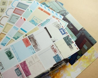 Keep a notebook- Washi Adhesive sheets