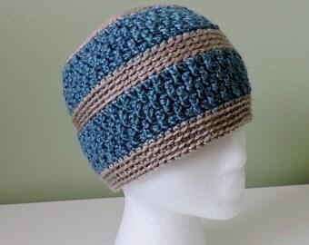 Hat - Beanie - Crochet - Fleece Lined Option