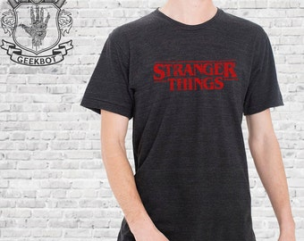 Stranger Things Vintage Look Shirts - Premium Triblend - American Apparel Options - Screen Printed XS-3XL