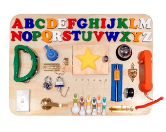 Alphabet Busy Boards