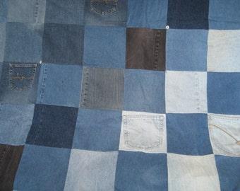 Blue Jean blanket