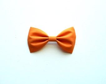 Peach Cobbler cotton bow
