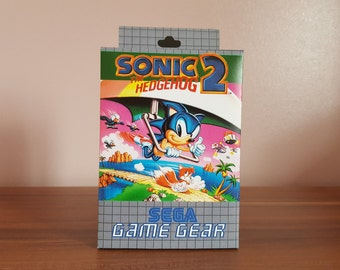Sega Game Gear - Sonic the Hedgehog 2 - Repo Box NO GAME INCLUDED
