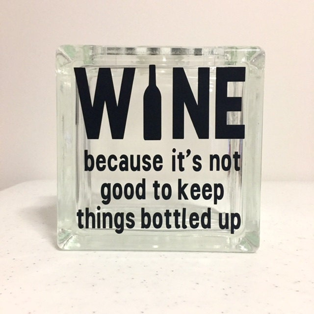 wine cork holder because its not good to keep things bottled up glass block bank wine cork holder bottle cap collection