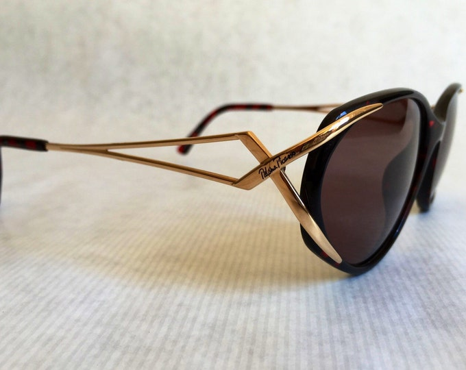 Paloma Picasso 3863 Vintage Sunglasses with Case - New Unworn Deadstock - Made in Germany