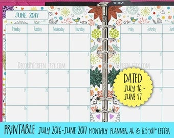 Daily Planner Printable Printable Daily Schedule by ...